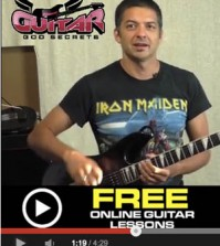 Easy Guitar Lesson Video