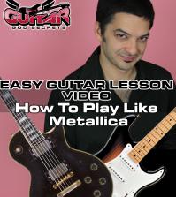 How to play like Metallica