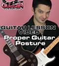 Proper Guitar Posture
